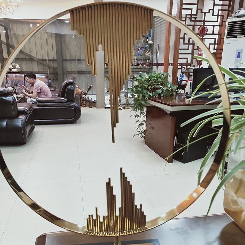 装饰不锈钢工艺品批发_心玲不锈钢_现代风_茶餐厅_户外_办公室