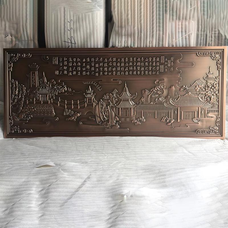 户外_轻奢风不锈钢铝雕刻供应商_心玲不锈钢