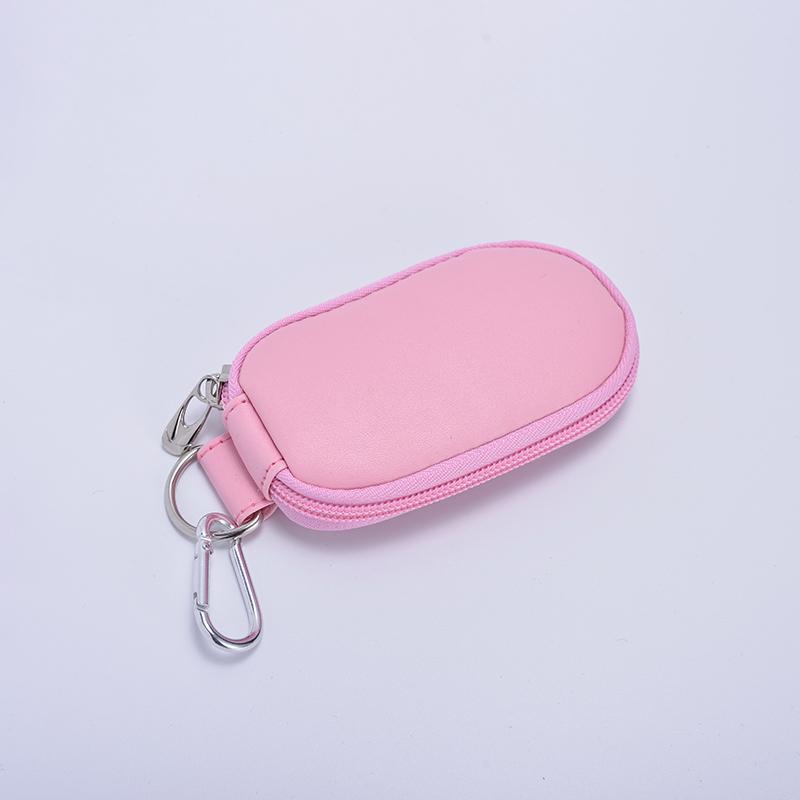 拉鏈_豎款PU車鑰匙包定做_新瑞手袋