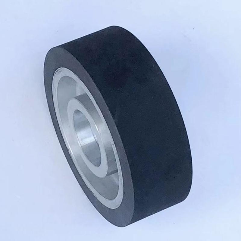 鑫旺鑫_立式設備_300*75鋁芯橡膠輪工廠