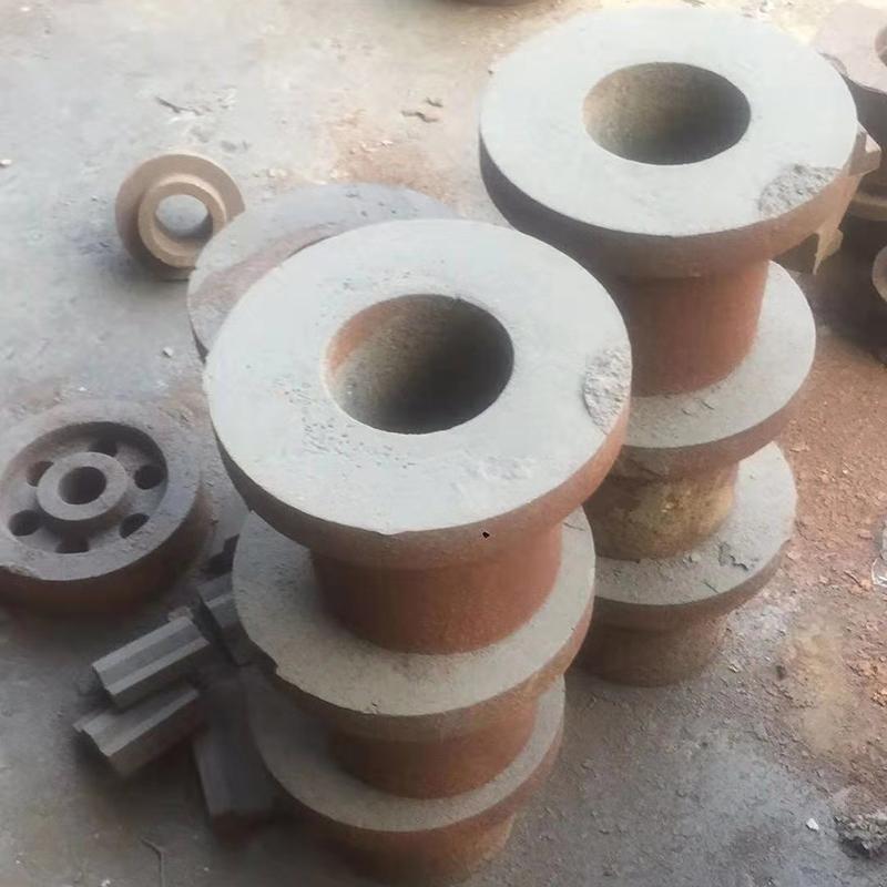 系帶式生鐵鑄鋁件配件報價_鑫旺鑫_鋁芯滾軸用_打磨機_高純_齒印