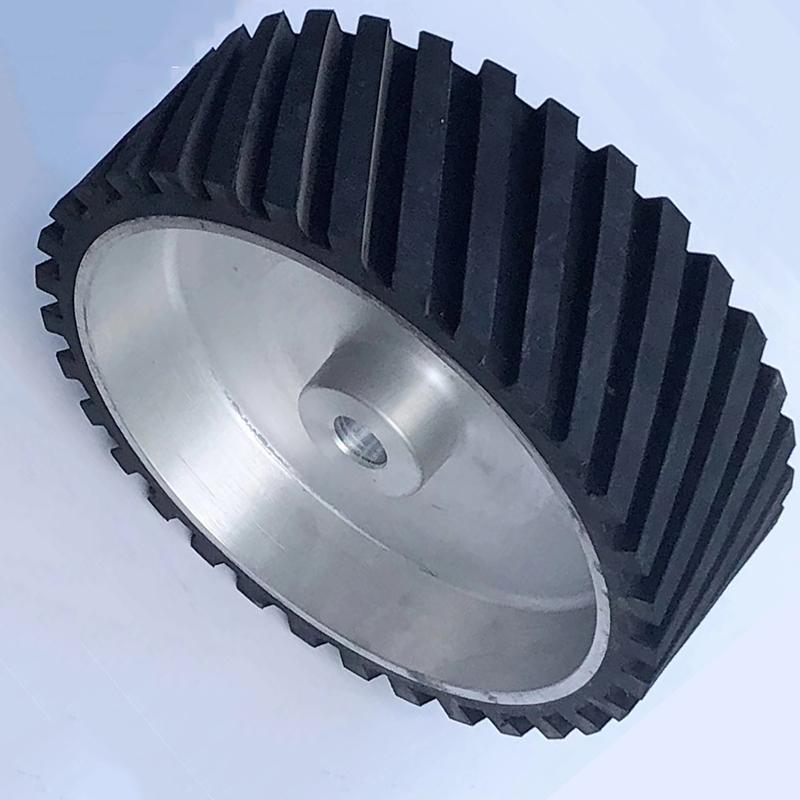 鑫旺鑫_150*150_200*50鋁芯橡膠輪加工廠
