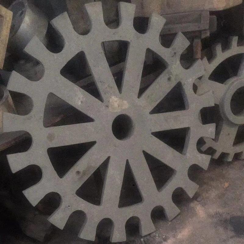 鋁盤生鐵鑄鋁件配件公司_鑫旺鑫_斜紋_立式設備_粘土濕砂型_非標