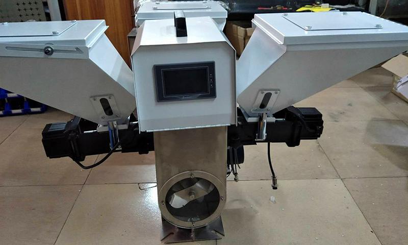 體積色母稱重拌料機使用方法采購的工作_信鑫盛精密