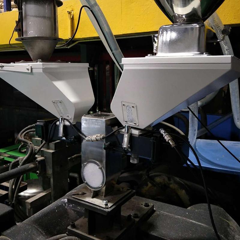廣州擠出式色母稱重拌料機采購供應管理軟件_信鑫盛精密