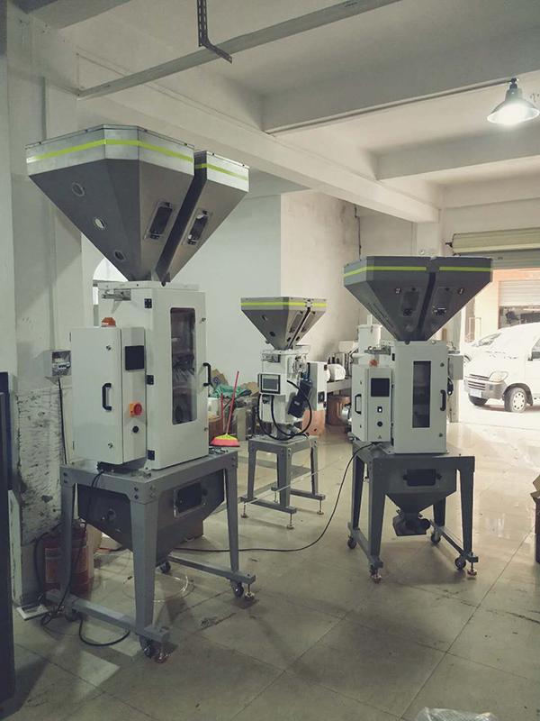 滚筒色母称重拌料机工厂定制产品比较好卖_信鑫盛精密