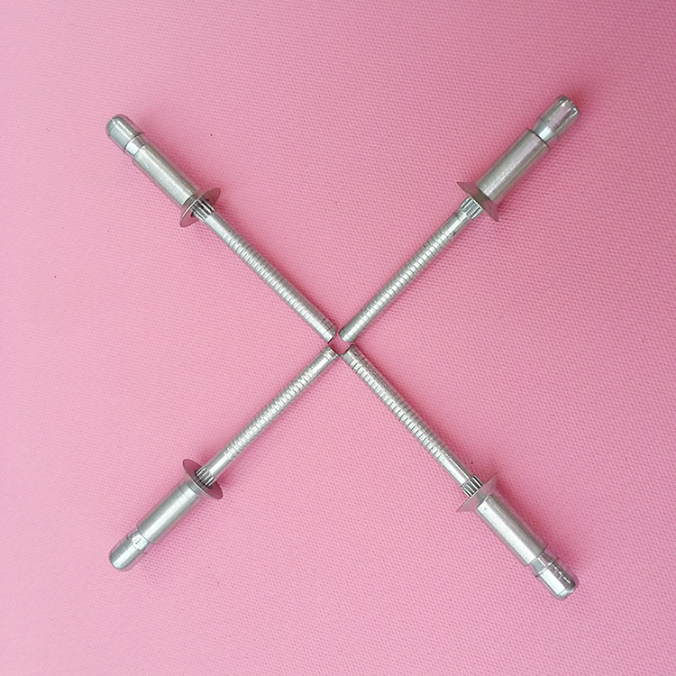 厂家优惠批发各类实芯铆钉 优质规格批发沉头口杯铁拉丝铆