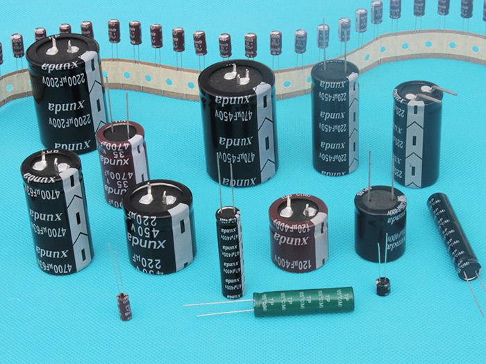 铝电解电容器