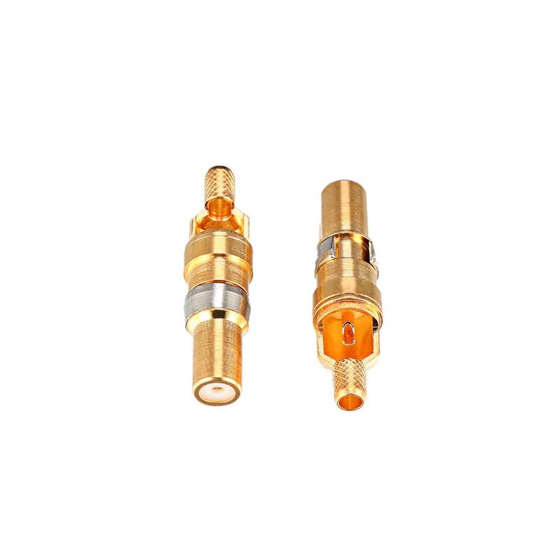 迅顥原_50歐姆直插板式_75歐姆彎焊板式同軸射頻端子生產加工