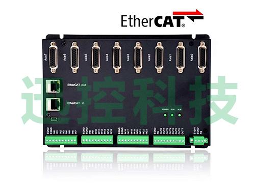 可扩展8块8轴EtherCAT脉冲转接板