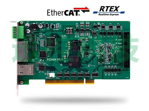 64轴双总线PCI运动控制卡