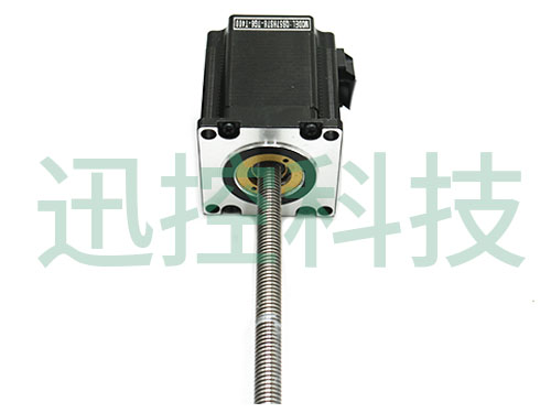貫通式梯型線性絲桿步進電機