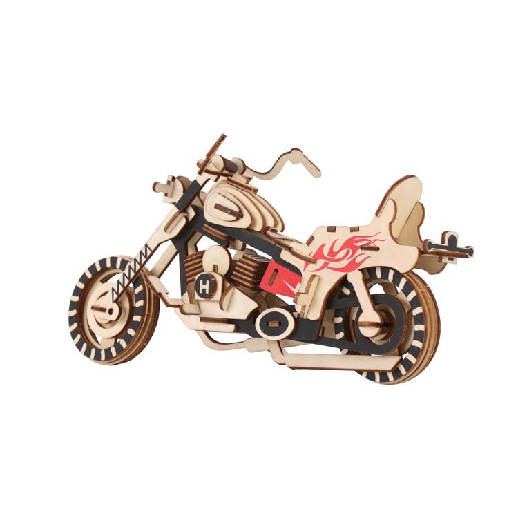 雷电哈雷-车模型