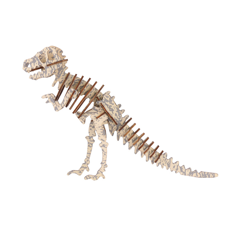 霸王龙-恐龙3D拼图
