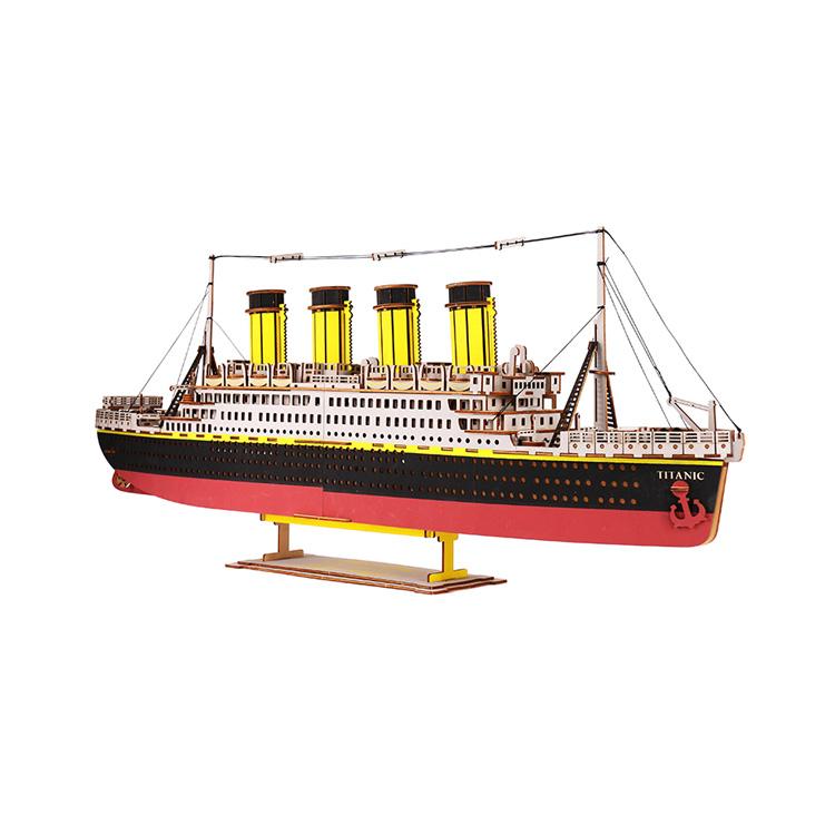 泰坦尼克号-船模型拼图