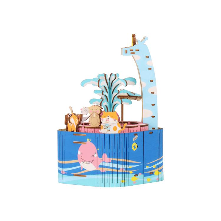泳池派对音乐盒
