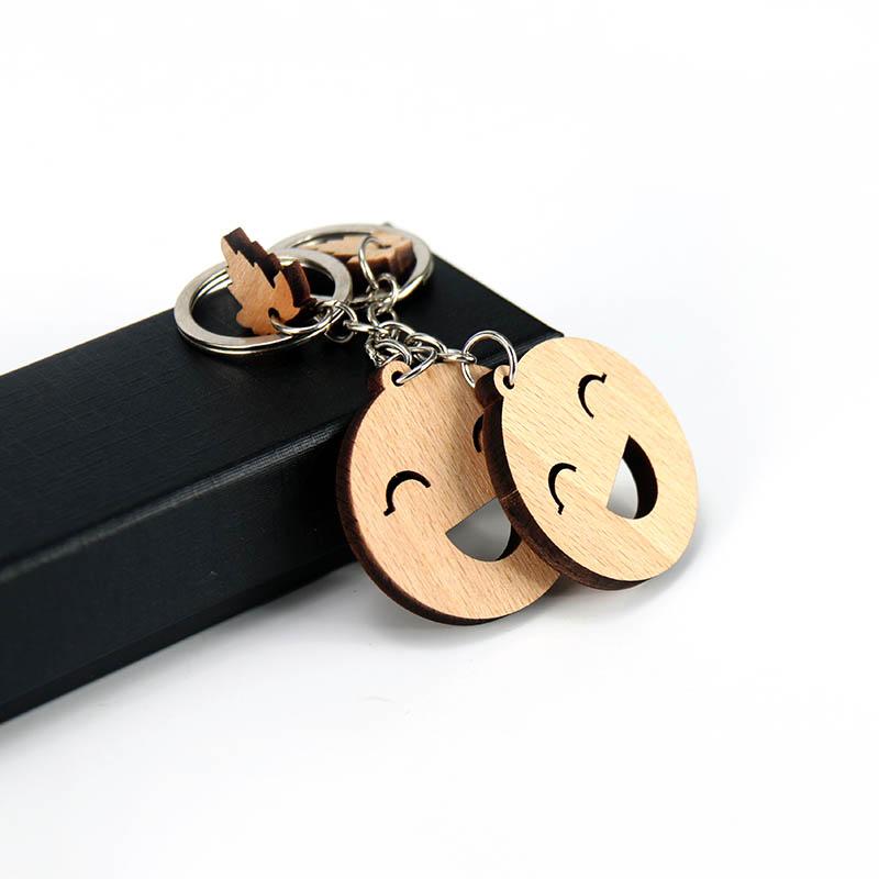 笑脸表情钥匙扣
