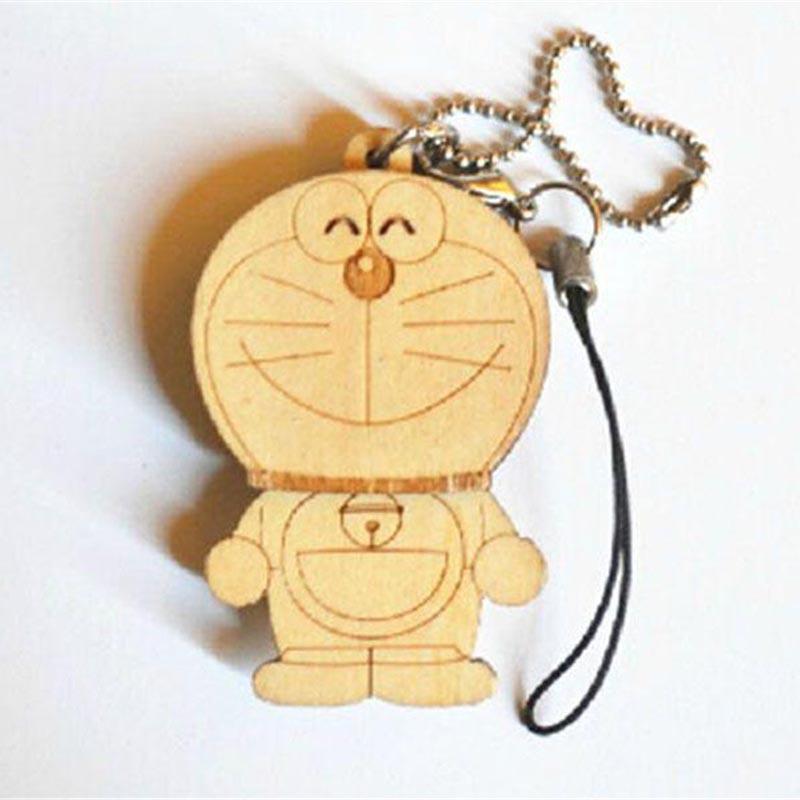 卡通木質鑰匙扣掛件優點_新越_跨境_活動禮品_亞克力_藝術品