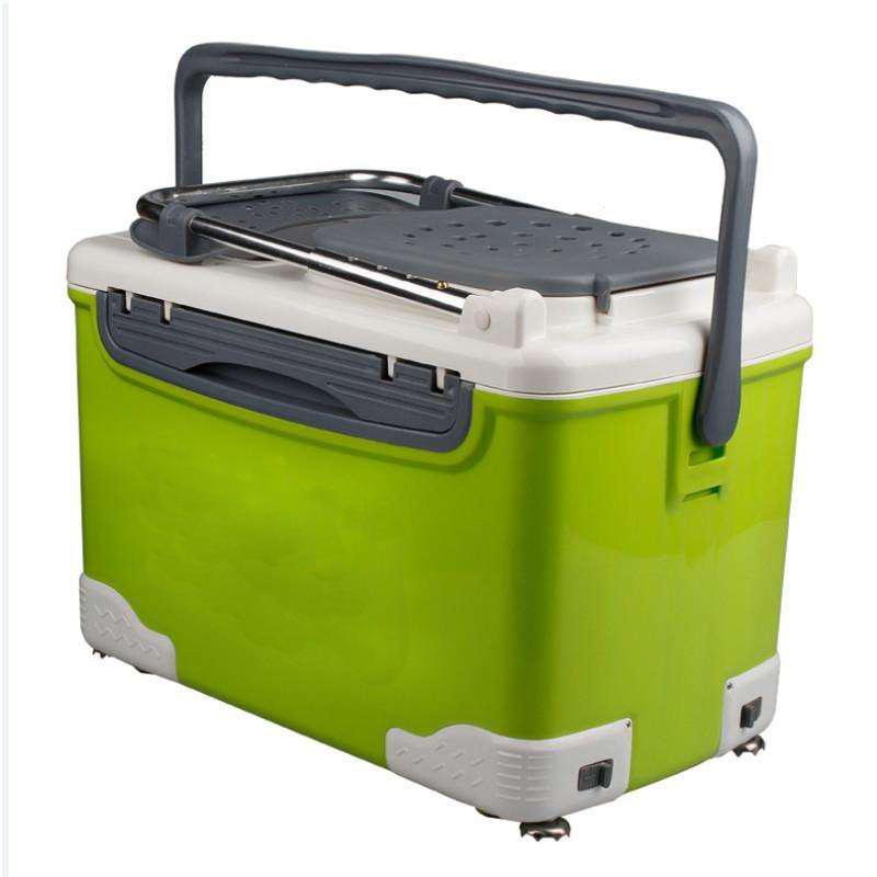 绿色容器桶