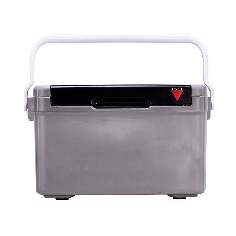 灰色容器桶