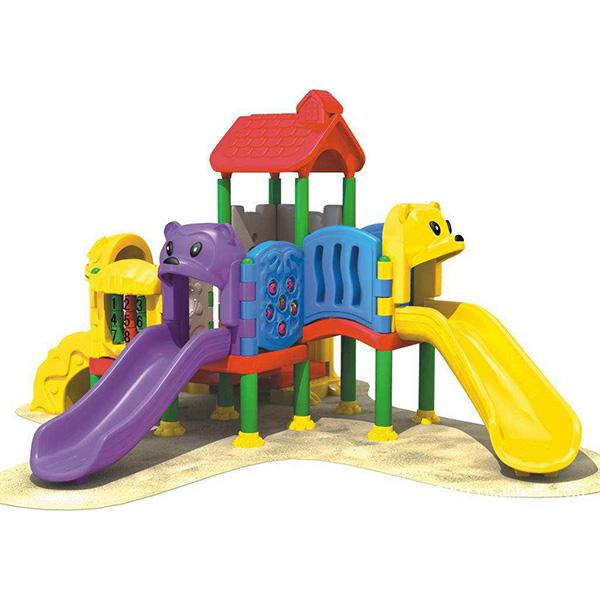 户外吹塑儿童滑梯