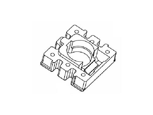 磁环底座 基座 电感底座 BASE 10×10 变压器骨架,贴片式骨架 BASE YT-001