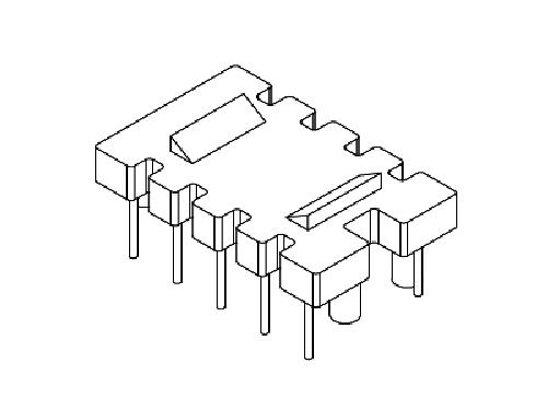 YT-011  磁环底座 基座 BASE   30×20 BASE(5+5P) 变压器骨架,贴片式骨架