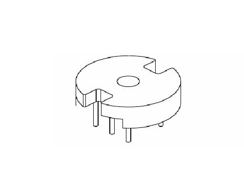 磁环底座 基座 电感底座 变压器骨架 贴片式骨架 BASE YT-013