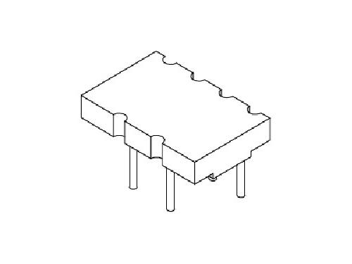 磁环底座 基座 变压器骨架,贴片式骨架 BASE YT-015