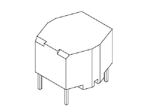 磁环底座 基座 变压器骨架,贴片式骨架 BASE YT-016 