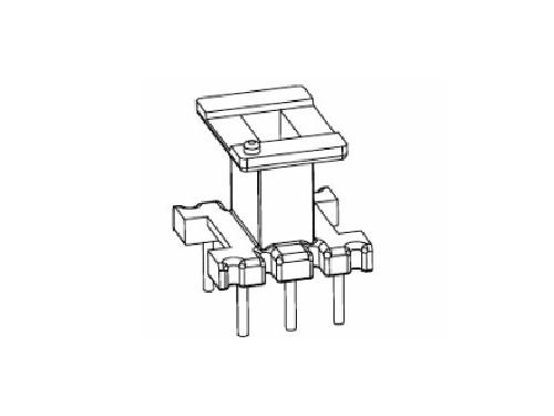 EE8.3骨架 立式变压器骨架3+3 电木骨架  YT-0801  骨架,贴片式骨架