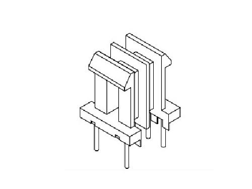 EE8.3 卧式双槽 变压器骨架  电木骨架  YT-0803   骨架,贴片式骨架