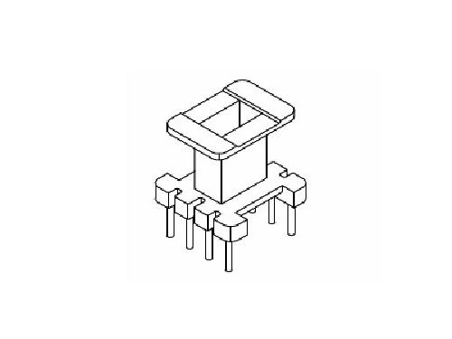 EE10骨架 立式变压器骨架 4+4 电木骨架  YT-1002  骨架,贴片式骨架