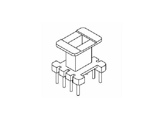 EE10 EI10 骨架 立式变压器骨架 4+4 电木骨架  YT-1003  骨架,贴片式骨架