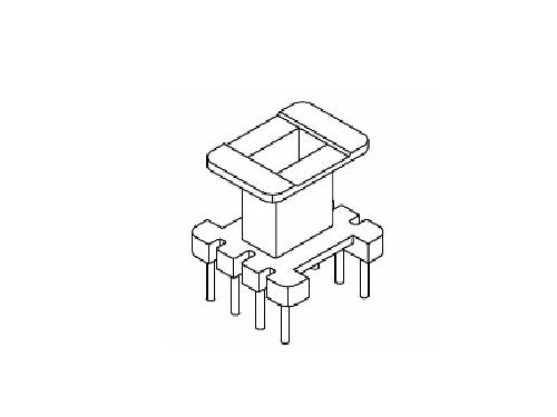 EE10骨架 立式变压器骨架 4+4 电木骨架  YT-1003-2  骨架,贴片式骨架