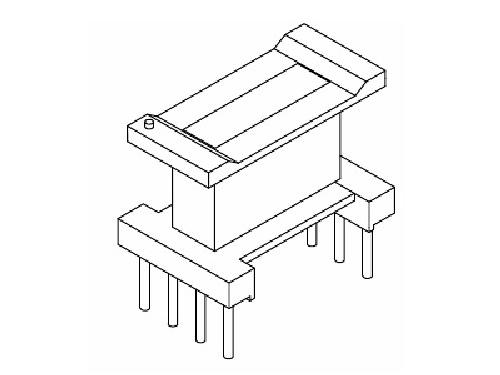 EE10骨架 立式变压器骨架 4+4 电木骨架  YT-1013 骨架,贴片式骨架