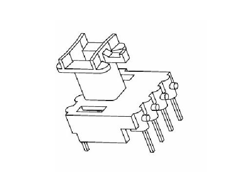 EE10 EI10 骨架 立式变压器骨架 4+4 电木骨架  YT-1019 骨架,贴片式骨架