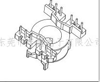 PQ4020高频骨架  电木骨架  多槽骨架 立式骨架 6+6P