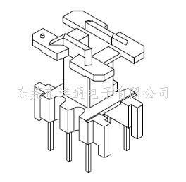 EF12变压器骨架EF12.6电木骨架高频骨架EE12电源骨架立式骨架 YT-1201