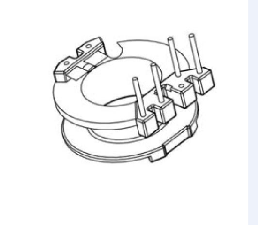 RM8变压器骨架RM8骨架RM7高频骨架RM9电木骨架RM8电源骨架YTX-0804-2