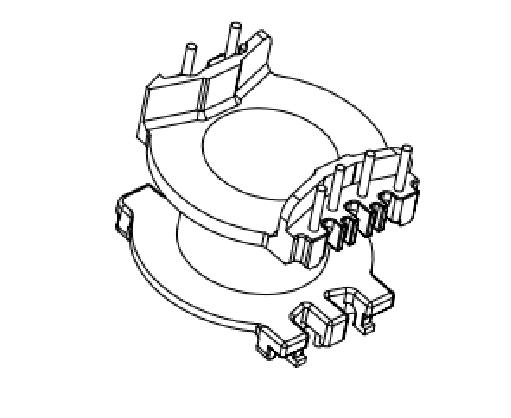 PQ23变压器骨架PQ24骨架EQ23高频骨架PQ24电木骨架EQ24电源骨架YTG-2324