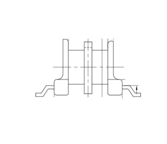 EP5变压器骨架EP6电木骨架EP5双槽骨架EP5电源骨架EP5贴片骨架 SYT-0511