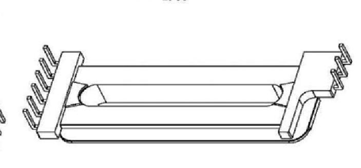 EDR4109 变压器骨架EDR4210电木骨架EDR4210高频骨架 立式6-3