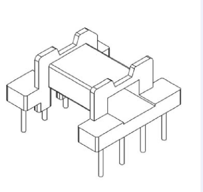 EFD15變壓器骨架EFD16電木骨架EFD15電源骨架 YTX-1506