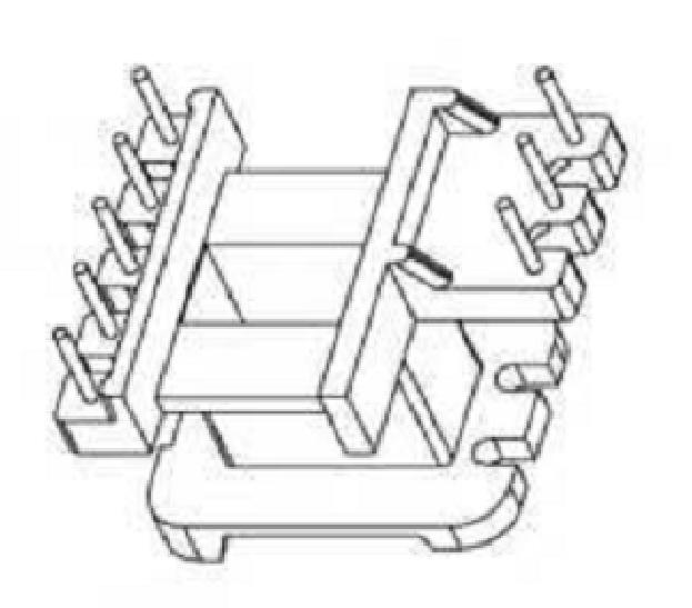 EE16變壓器骨架EE16電木骨架EE16立式骨架5-3腳