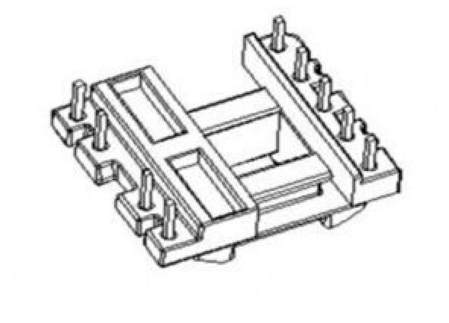 EE16變壓器骨架EE16電木骨架EE16立式骨架5+4針