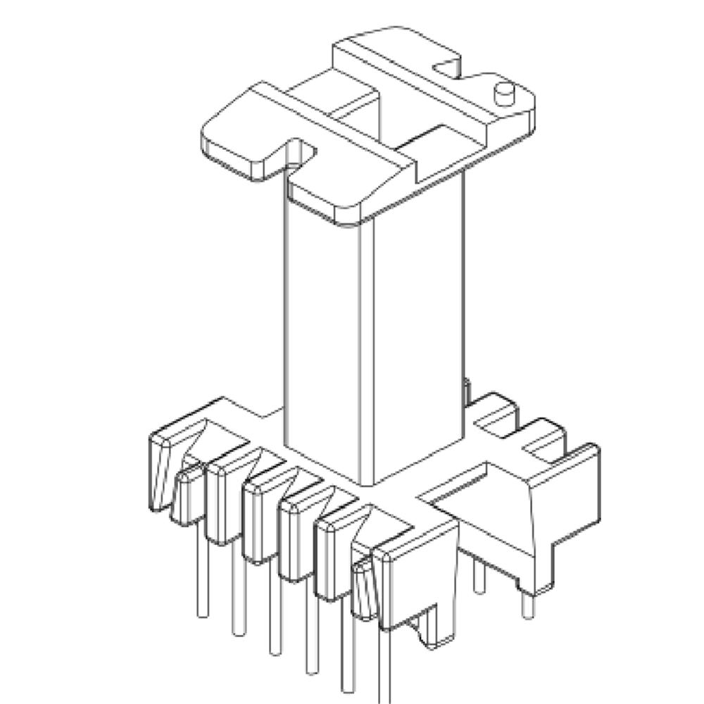 EEL16變壓器骨架EEL16加高骨架EEL16高頻骨架YT-1633
