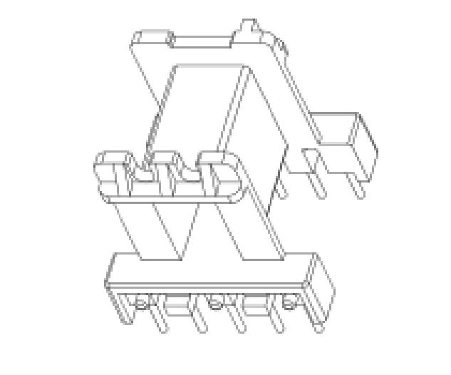 EF20.11變壓器骨架EF20.11臥式骨架EF20.11加厚骨架5+5腳
