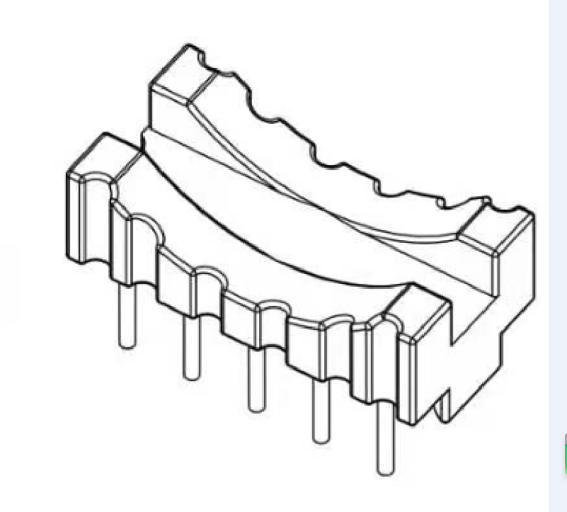 27mm磁環底座27mm電感底座 BASE 變壓器骨架YTL-059