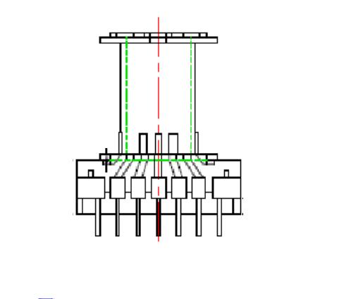 ER42電木骨架ER43變壓器骨架 EC42電源骨架 EER4215立式骨架 7+7 YTG-4215